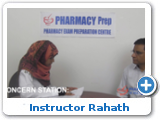 OSCE Instructor Rahath