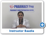 OSCE Instructor Saadia