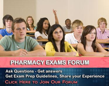 Pharmacy Prep - Join our Exam Forum