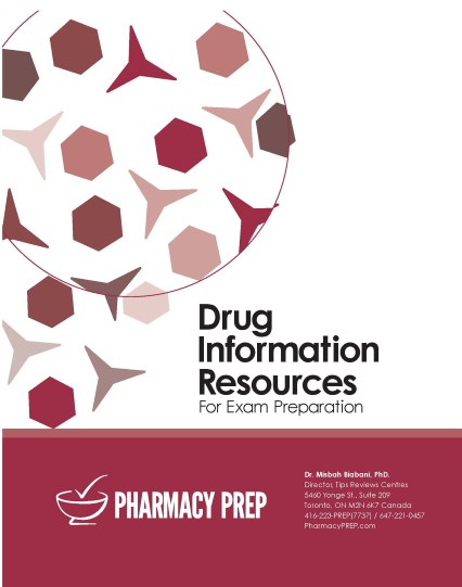 Drug Information Resources - Misbah Biabani, Ph.D.