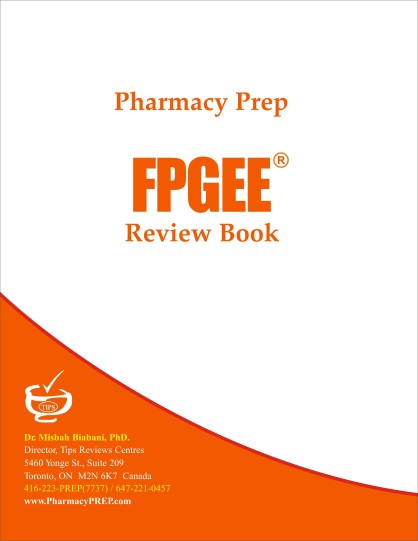 FPGEE Review & Guide Pharmacy Prep by Misbah Biabani, Ph.D.