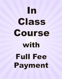 Qualifying Exam MCQ In Class Study Full Fee payment