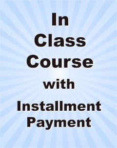 Qualifying Exam MCQ In-class Course Installment payment