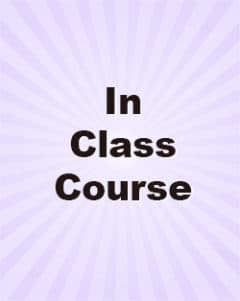 Qualifying Exam MCQ In-class Courses