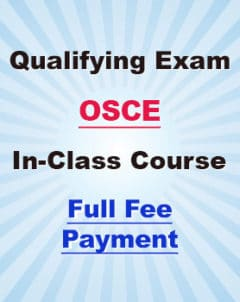 OSCE In-class Course Full Fee Payment