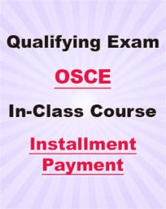 OSCE In-class Course Installment payment