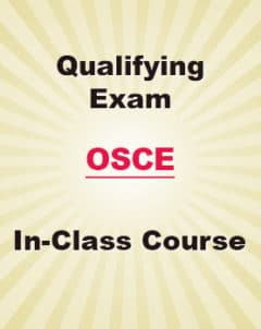 Qualifying Exam OSCE In Class Courses