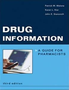 Drug Information A guide For Pharmacist